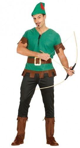Strój dla mężczyzny Robin Hood, Myśliwy, Piotruś Pan