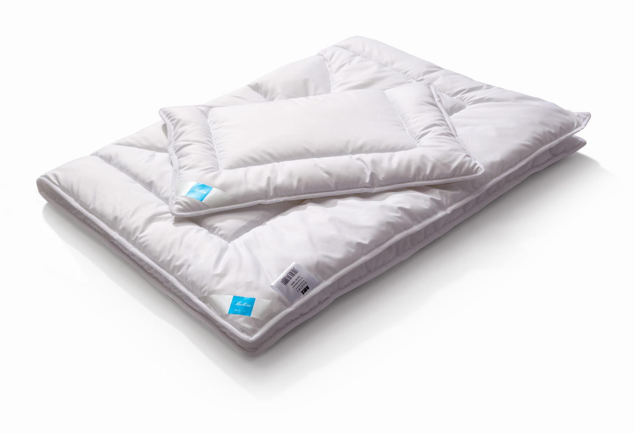 Kołdra dziecięca 100x135 AMZ Cotton z poduszką 40x60 Antyalergiczna