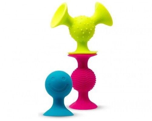 Fat Brain Toys - przyssawki dla niemowląt PipSquigz