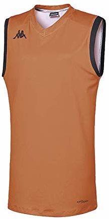 Kappa Atrani Tank Wo damski T-shirt M pomarańczowy