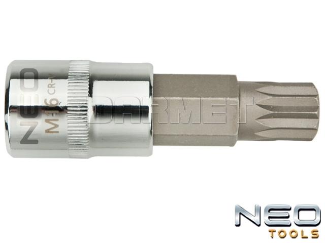 """Nasadka z końcówką Spline 1/2"""", M6 x 55MM - NEO TOOLS (08-731)"""