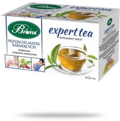 BiFix Expert Tea Przyjaciel matek karmiących herbata ziołowo-owocowa 20 saszetek