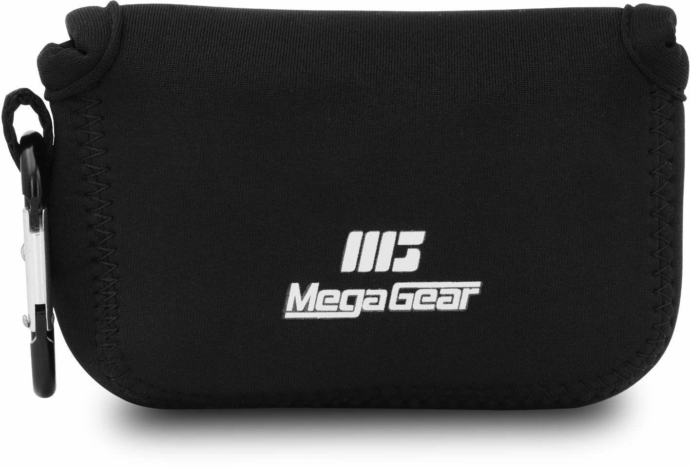 """MegaGear Canon PowerShot G9 X Mark II, ultralekka torba na aparat z neoprenu z karabińczykiem """"MG696"""" czarna"""