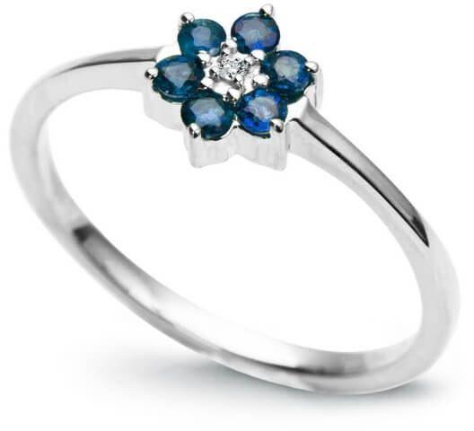 Złoty pierścionek PBD0746 - Diament