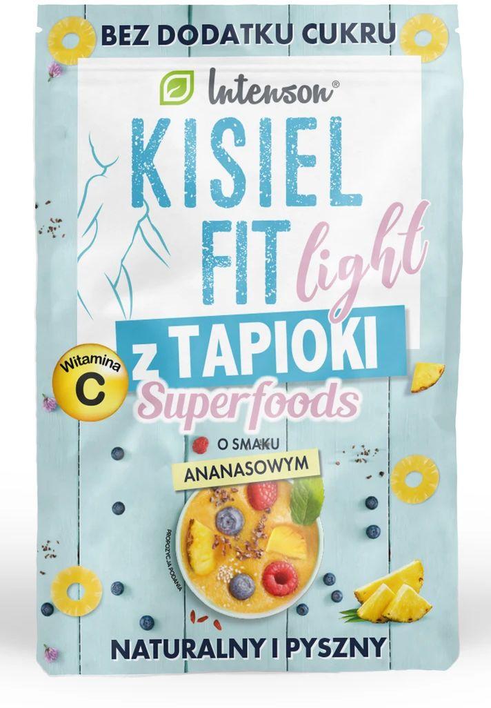 Kisiel Fit z Tapioki Ananasowy 30g - Intenson