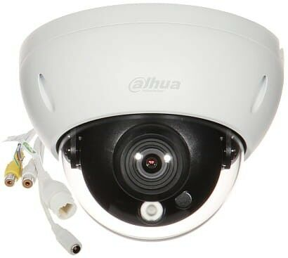 KAMERA WANDALOODPORNA IP IPC-HDBW5241R-ASE-0280B - 1080p 2.8mm DAHUA
