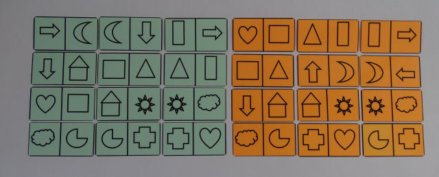 Domino - kształty