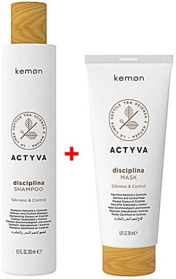 Kemon Actyva Disciplina zestaw szampon 250ml + maska 200ml