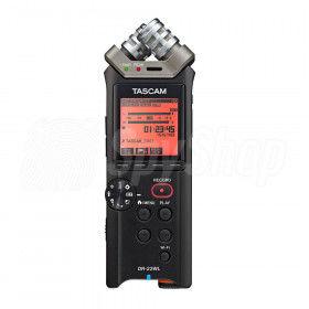 Profesjonalny, kieszonkowy dyktafon Tascam DR-22WL z WiFi