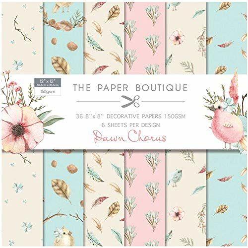 Papier Boutiique świt chorus papier 12 x 12 podkładka
