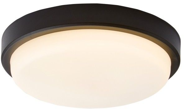 Plafon LED Colours Davenport 2 4000 K 18 cm czarny