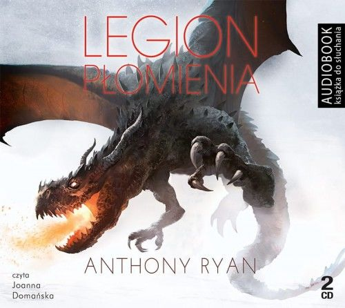 Legion płomienia Anthony Ryan Audiobook mp3 CD