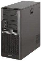 Fujitsu Celsius W380 komputer stacjonarny (2,66 GHz, Intel Xeon 3000, X3450, 6 GB, 16 GB, 3 x 2 GB) czarny
