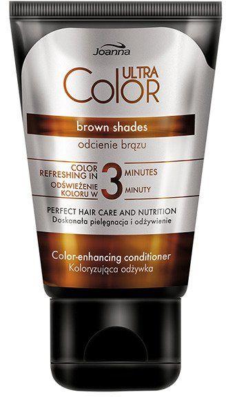 Joanna Ultra Color Odżywka koloryzująca Brąz 100 g