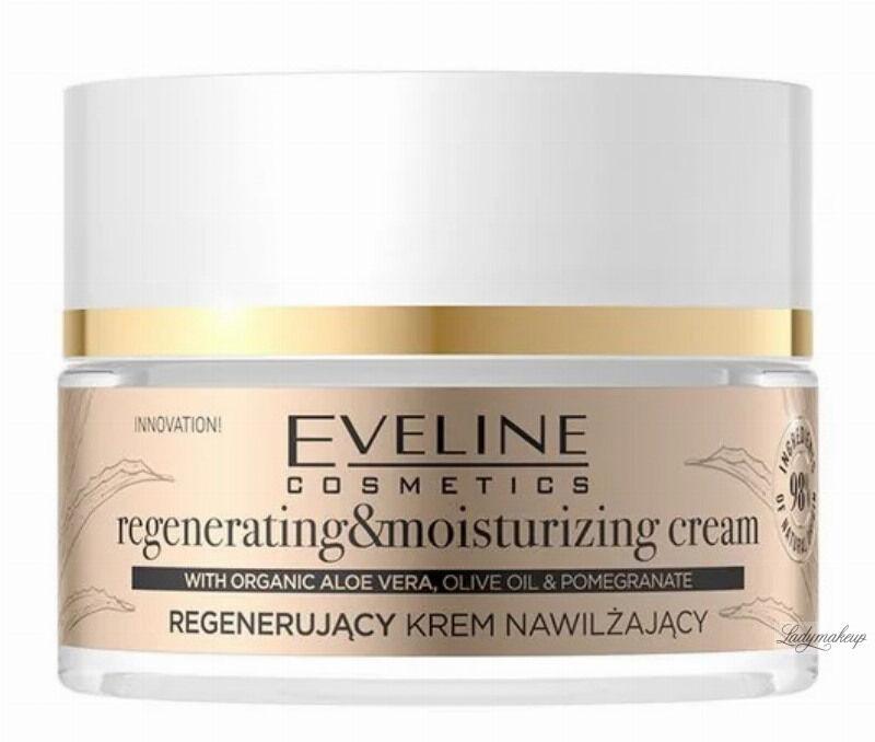Eveline Cosmetics - Organic Gold - Regenerujący krem nawilżający do twarzy - 50 ml