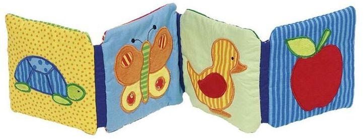 Książeczka dla niemowlaka z efektami dźwiękowymi, 65071-Cause, zabawka edukacyjna