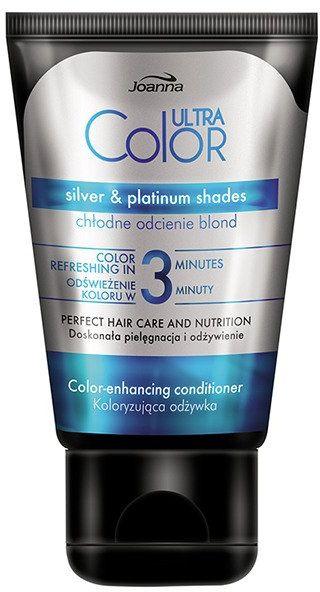 Joanna Ultra Color Odżywka koloryzująca Chłodny blond 100 g
