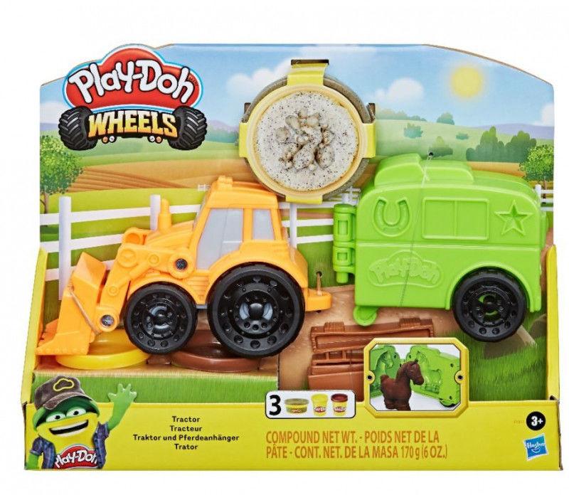 Ciastolina PlayDoh Wheels Traktor