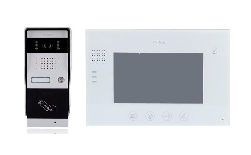 Wideodomofon vidos m670w / s50a - szybka dostawa lub możliwość odbioru w 39 miastach