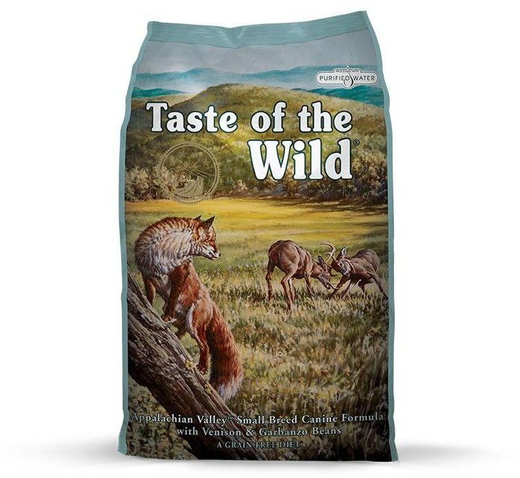 TASTE OF THE WILD Appalachian Valley 5.6 kg + GRATIS
