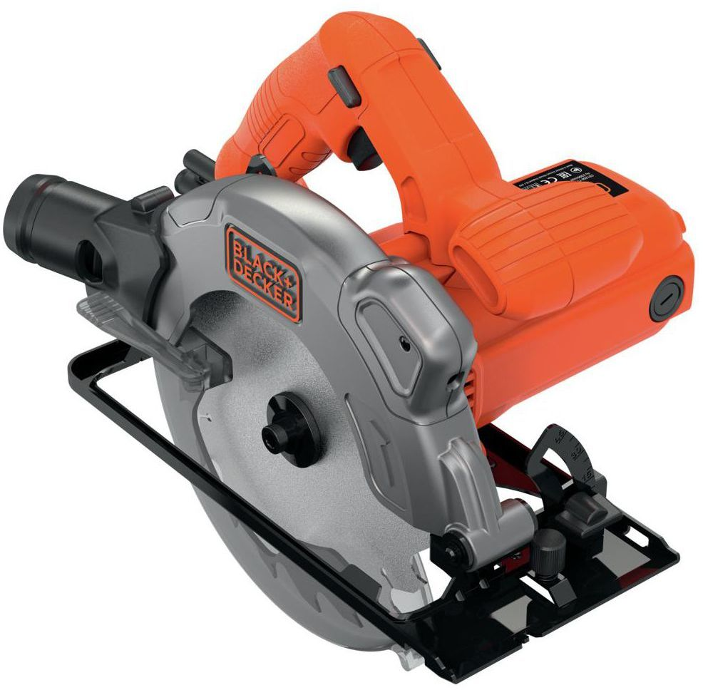Pilarka tarczowa 190 mm 1250 W CS1250L BLACK&DECKER