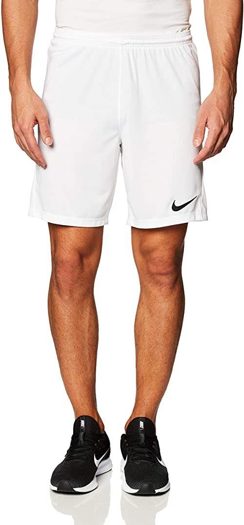 Nike Szorty męskie Dry Park Iii biały biały/czarny XL