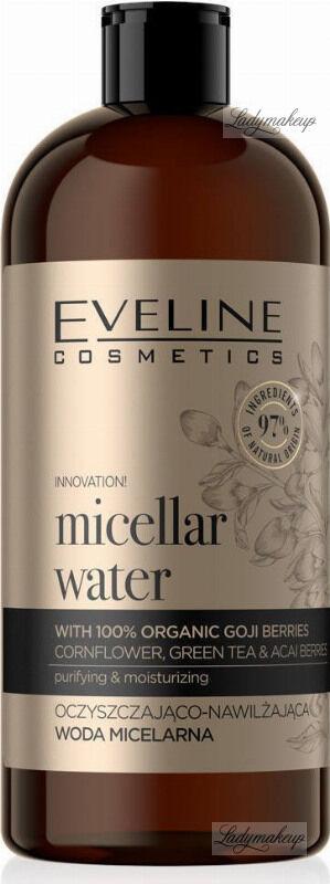 Eveline Cosmetics - Organic Gold - Micellar Water - Oczyszczająco-nawilżająca woda micelarna - 500 ml