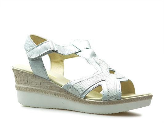 Sandały Helios 251 Srebrne lico