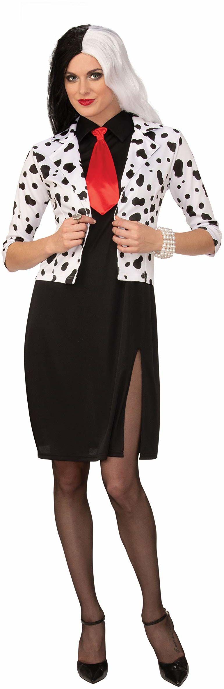 Bristol nowość AF112L pies Lovin Diva (nowoczesny) duży kostium dla dorosłych, kobiety, czarny, biały