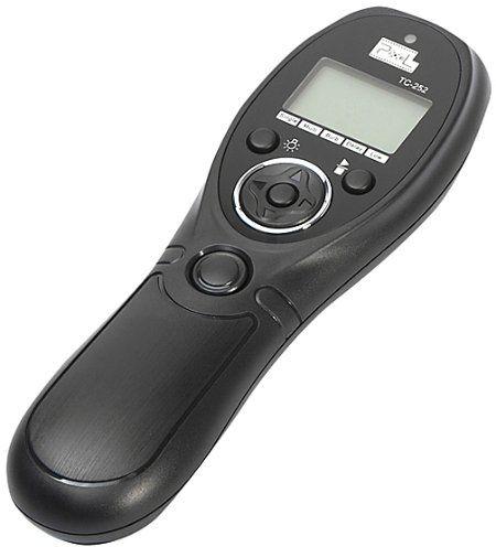Pixel TC-252/S1 LCD Timer zdalny wyzwalacz do Sony Alpha a900 a850 a700 a500 a550 a430 a450 a300 a330 a350 a200 a100 a77 jak RM-S1AM