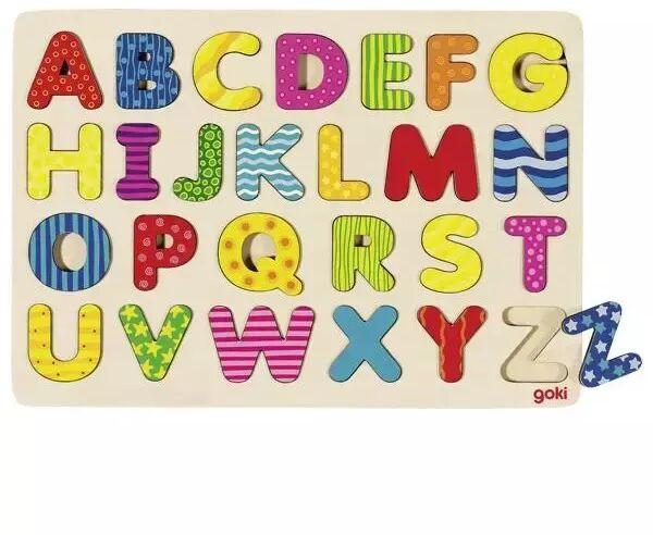 Puzzle alfabet - Goki