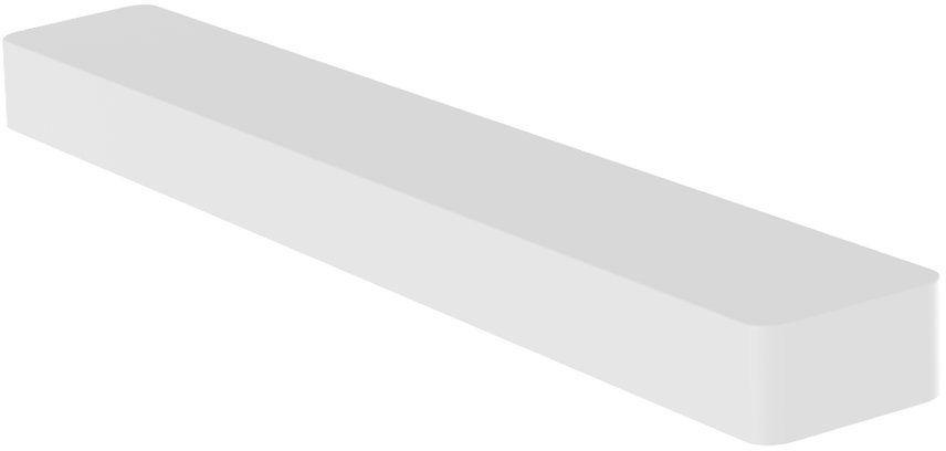 Baseus Metal Paddle 6x wkład do odświeżacza powietrza zapach do samochodu (róża) biały (SUXUN-M0C)