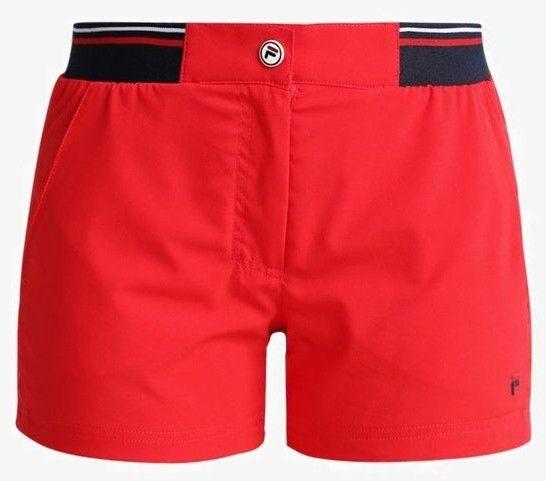 Fila Boxy Short Bianka W - red