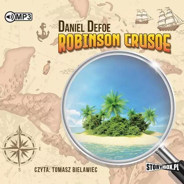 CD MP3 Robinson Crusoe - Daniel Defoe
