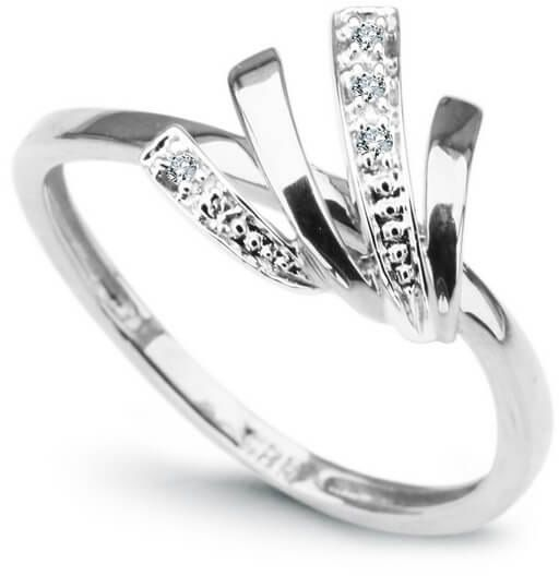 Złoty pierścionek PBD1888 - Diament