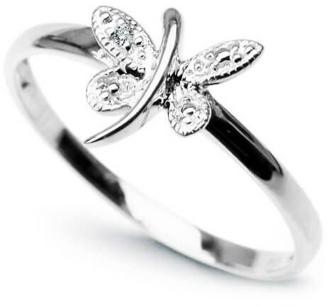 Złoty pierścionek PBD1891 - Diament