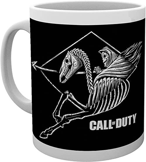 GB Eye Ltd, Call Of Duty, Raider, kubek, drewno, różny, 15 x 10 x 9 cm