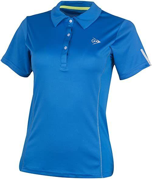 Dunlop Club Line Ladies Polo Royal Club Line damska koszulka polo niebieski niebieski L