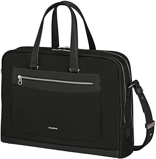 "Samsonite Zalia torba na laptopa 2,0-15,6"", 41 cm, 14,5 l, czarny (czarny) (czarny) - KA8003-BLACK"