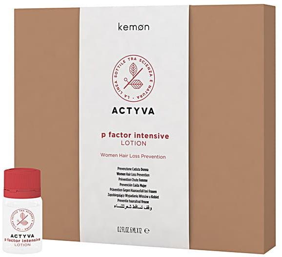Kemon Actyva P Factor lotion women wypadanie włosów dla kobiet 12x6ml
