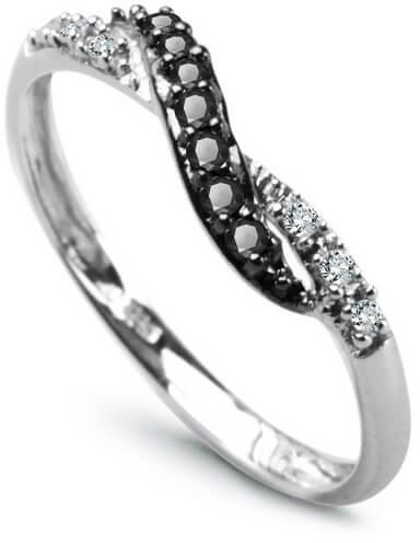 Złoty pierścionek PBD1907 - Diament