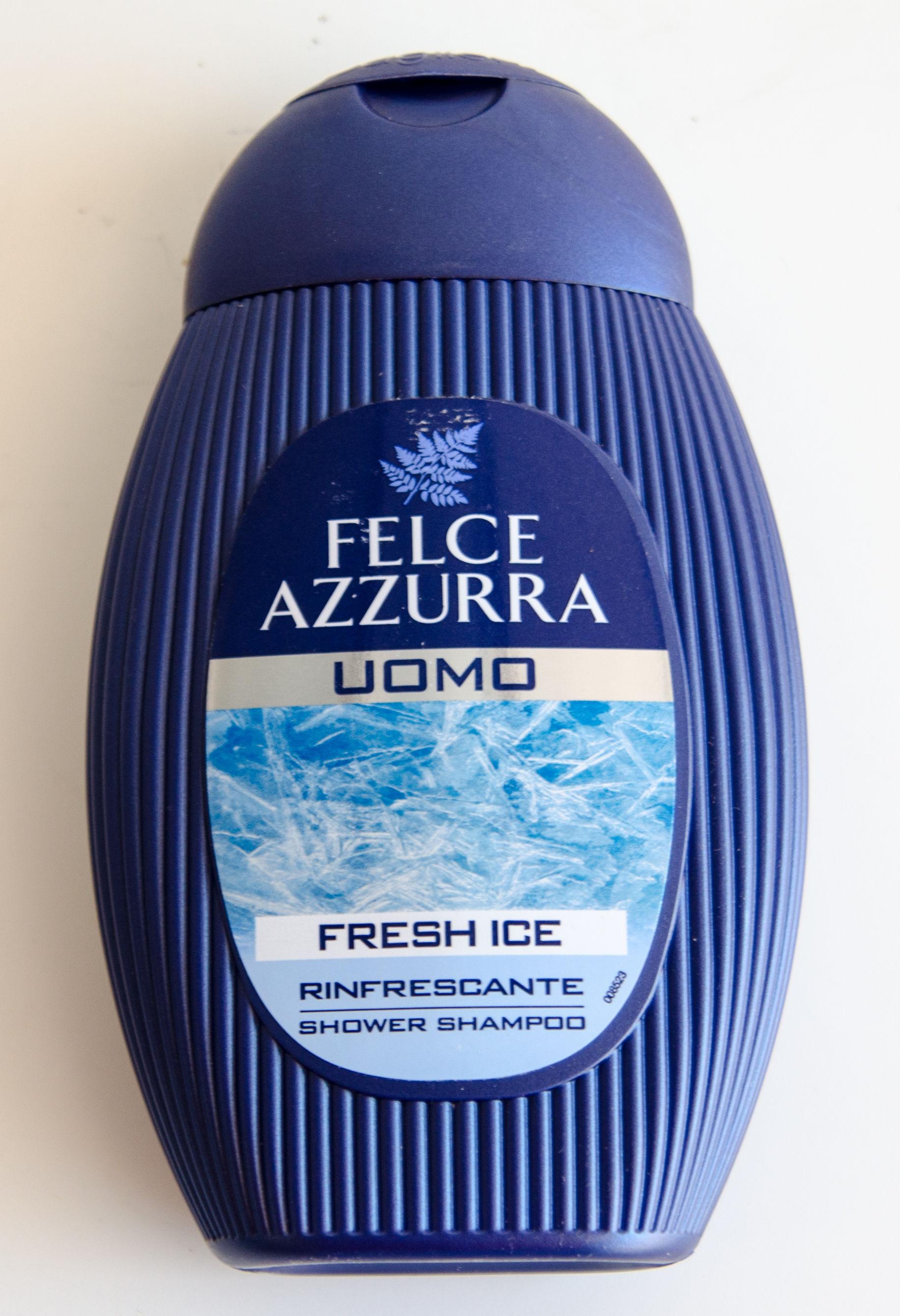 Felce Azzurra Uomo Fresh Ice - Szampon i żel pod prysznic dla mężczyzn 2w1 (250 ml)