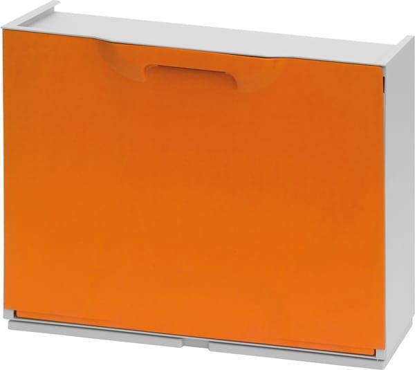 Szafka Na Buty Pomarańczowa Unika ArtPlast