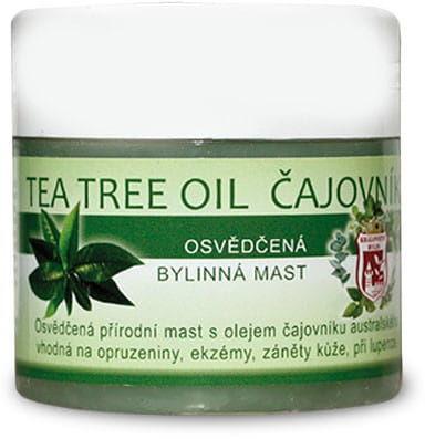 Maść z olejem z drzewa herbacianego 150ml działa regenerująco, antybakteryjnie, przeciwgrzybiczo, antyseptycznie