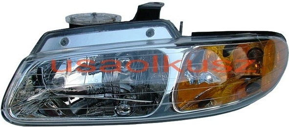 Lewy reflektor USA Chrysler Voyager Town&Country 1996-2000