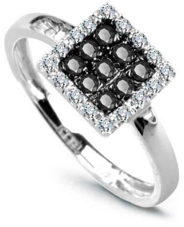 Złoty pierścionek PBD1910 - Diament