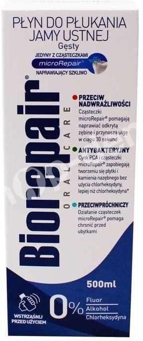 BioRepair Plus - Remineralizujący płyn do płukania jamy ustnej 500ml
