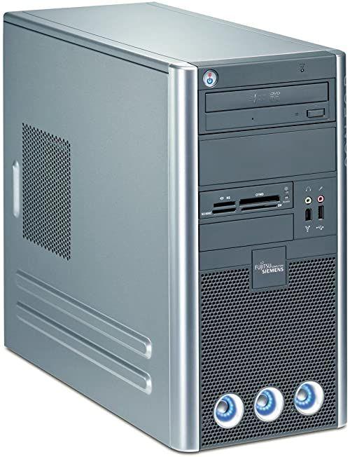 Fujitsu SCALEO Pi 2662 komputer stacjonarny (Intel Core 2 Quad Q6600 2,4 GHz, 3 GB RAM, 1000 GB HDD, Nvidia 8600 GS, DVD+- DL RW, DVD LW, Windows Vista Home Premium)