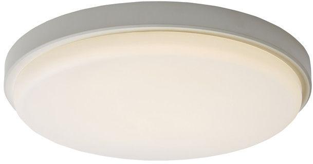 Plafon LED Colours Davenport 4000 K 35 cm biały z czujnikiem ruchu MVS