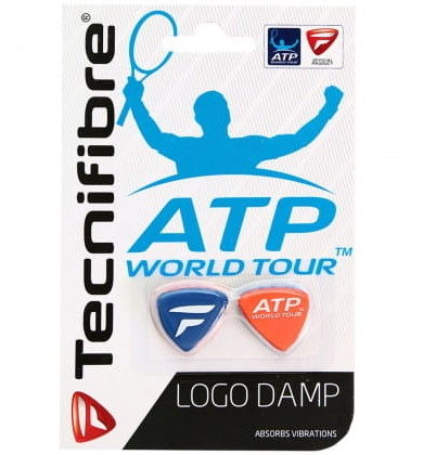 Tecnifibre Logo Damp (2 szt.) - blue/red